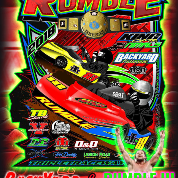 2018 Rumble III Flyer